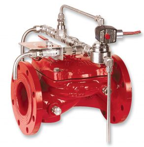 Bermad Fire Protection | Electrically Controlled, On-Off Deluge Valve | FP 400E-3D