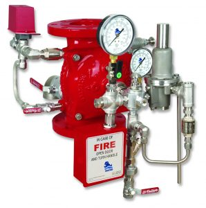Bermad Fire Protection | Hydraulically Controlled, Anti-Columning Deluge Val | FP 400E-5M