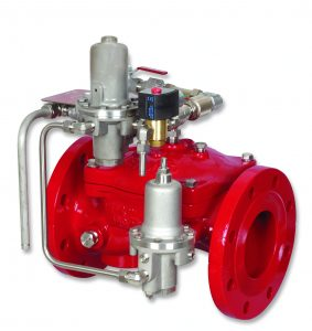 Bermad Fire Protection | Electric Pneumatic Pressure Control On-Off Deluge Valve | FP 400E-6DC