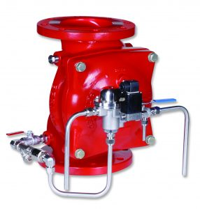 Bermad Fire Protection |Electro- Pneumatically Operated, Remote Controlled Monitor Valve | FP 400E-6X