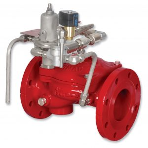 Bermad Fire Protection | Electric Pressure Control On-OFF Deluge Valve | FP 400E-3DC