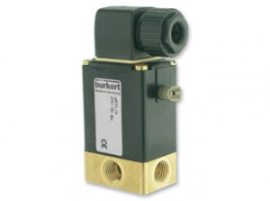 3-Way Solenoid Valve Burkert 330 Series