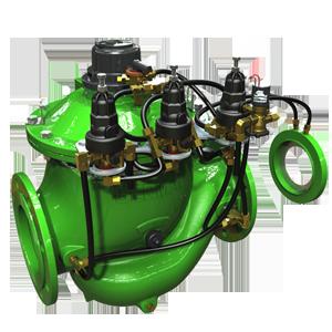 Flow Control Pressure Reducing and Sustaining Hydrometer   IR-975-55-RUX