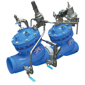 """Pressure Reducing System with """"Watchdog"""" Hydraulic Backup Valve 