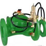 降低灌溉管路初次注水时的流速