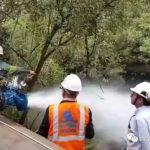 管道排水过程中的防崩塌防护